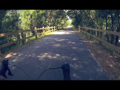 Florida Travel: Cycling On The Palatka To Lake Butler State Trail