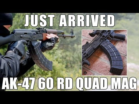 AK-47 60 Round Magazine In 7 62x39 (The Mag That Will Make
