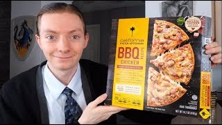 California Pizza Kitchen BBQ Chicken Frozen Pizza Review!