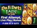 Da Ji Da Li Jade Wins Slot - First Attempt, Live Play, Free Spins and Nice Line Hits