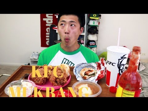 KFC MUKBANG (SOCIAL EATING)