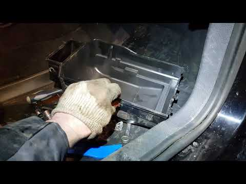 Замена радиатора печки на Volkswagen Polo Sedan 2013г.в.