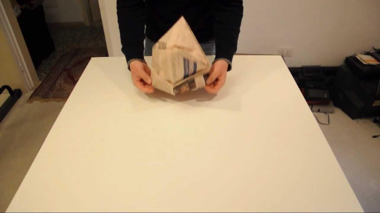 Come fare un cappello di carta da muratore  - YouTube 3d9aa8235da7