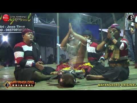 Lagu Jaranan GERIMIS MELANDA HATI Pegon Versi MAYANGKORO ORIGINAL Live Perak Jombang 2018