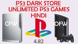 PS3 Dark Store in Hindi - CFW/OFW 4.82 deeply explain