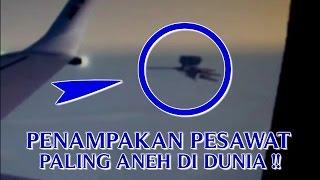 """VIDEO PENAMPAKAN PESAWAT """"PALING ANEH DI DUNIA TEREKAM KAMERA"""" PESAWAT ANEH DAN MISTERIUS !!"""