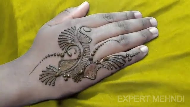 Small And Beautiful Mehndi Design Patch Or Tattoo 2 Youtube