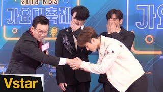 갓세븐(GOT7) 잭슨, MC 딩동 덕분에 감동(?)한 사연 @ 2018 KBS 가요대축제