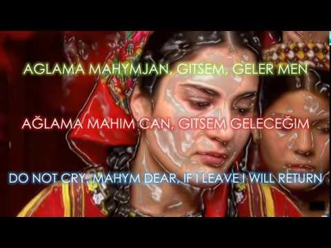 Gitsem Geler Men- Türkmen Türküsü Türkçe altyazili. Turkmen Song- English Subtitles. Türkmen aýdymy