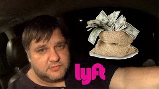 how much money per day with uber and lyft in new york?