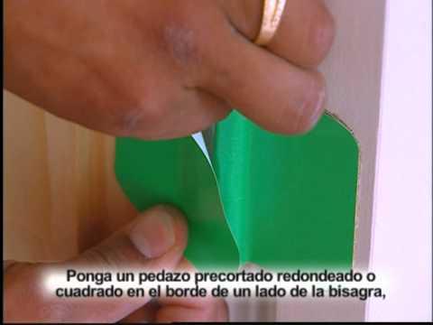 Painting Around Door Hinges Youtube