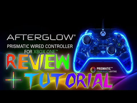 PDP Afterglow Prismatic Controller for #XboxOne review & tutorial