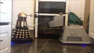 Cardboard K 9 Vs Dalek Bob
