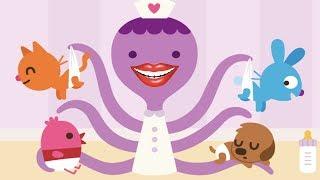 Fun Play Learn Toolbox Games For Toddler or Preschooler - Sago Mini Babies Fun Care Kids Games