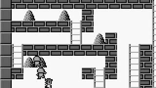Hyper Lode Runner All Stages Game Boy 60fps
