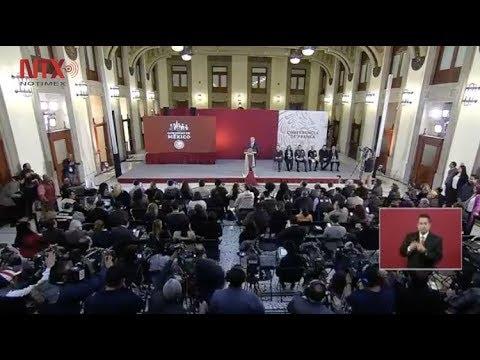 Conferencia de prensa de AMLO, 21 de febrero 2019