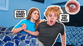 She Hit Me In My Sleep 🤕😴|Lev Cameron