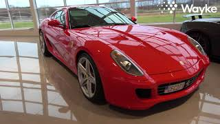 [In Swedish and 4k] Ferrari 599 GTB Fiorano V12 for sale at Platinum Cars The Collection in Sweden