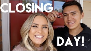 Omg! We Bought A House! Closing Day Vlog