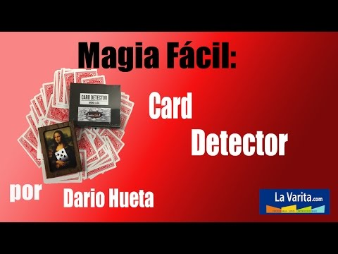 Card detector by Arsene Lupin video