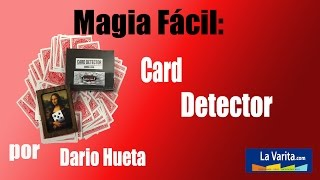 Video: Card detector by Arsene Lupin