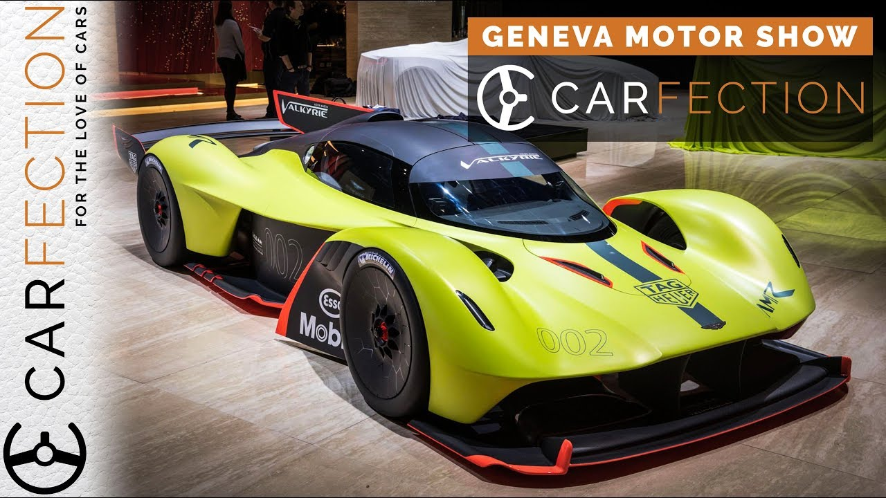 Aston Martin Valkyrie Amr Pro Terrifying Speed Carfection Youtube