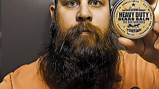 Beard Balm Review | Honest Amish | Heavy Duty Beard Balm