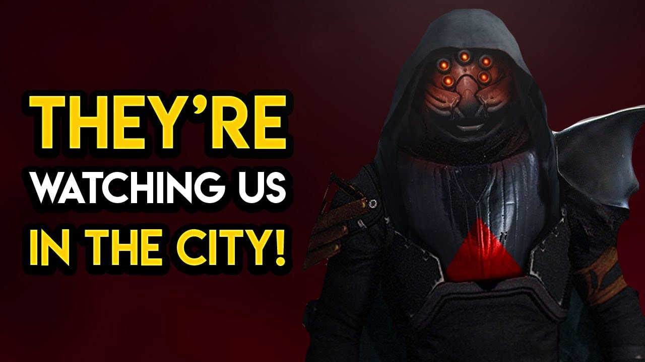 Destiny 2 - THEY'RE WATCHING US IN THE CITY! Weird Interactions You Definitely Missed!