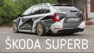 Skoda Superb│Czech quality stance