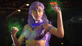 Injustice 2- Starfire's Teen Titans/Nightwing References