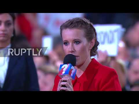 Russia: Do you want Russia moving from one 'Maidan' to another? Putin asks Ksenia Sobchak