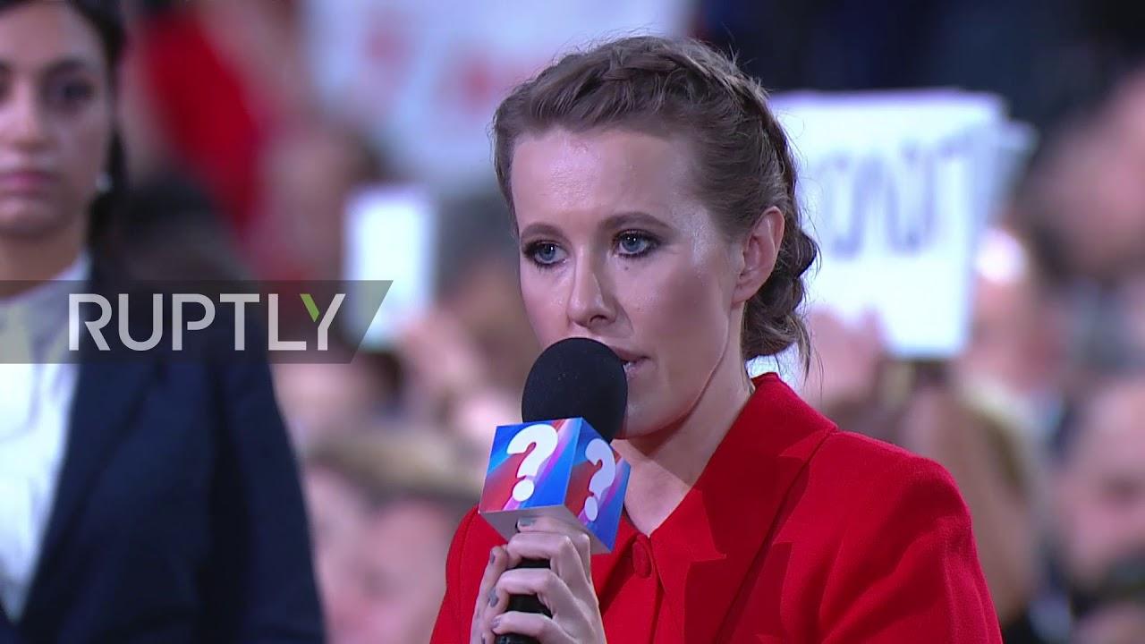 Ksenia Sobchak asks to check Zhirinovsky for rabies