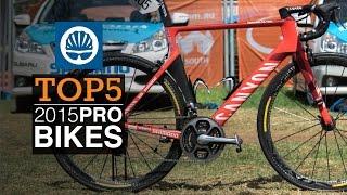 Top 5 - Pro Road Bikes 2015