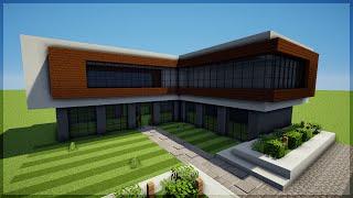Minecraft: Construindo uma Casa Moderna 8