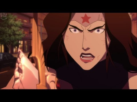 Wonder Woman vs Doomsday  The Death of Superman