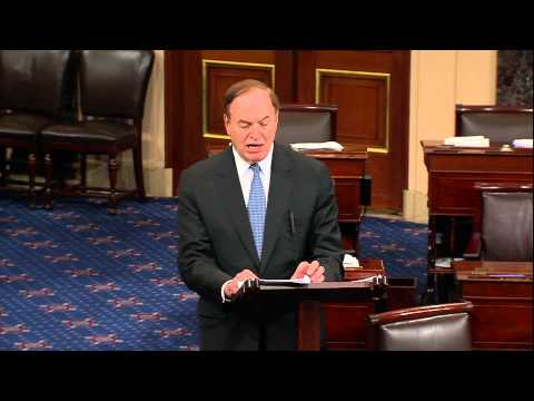 Shelby Floor Speech on Jobs and Economy