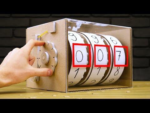 DIY Mechanical Counter from Cardboard