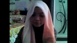 Repeat youtube video Tutorial tudung bawal style baru