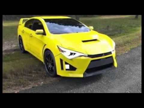 2016 2017 Mitsubishi Evo X Final Edition New Sport Car Interior And Exterior