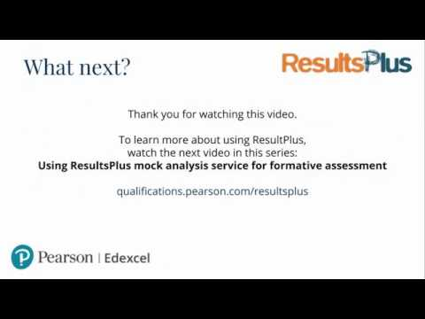 Features of ResultsPlus | Pearson qualifications
