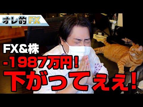 FX&株、-1987万円!英ポンド爆上げが止まらない!頼むから下がってくれええええ!!!