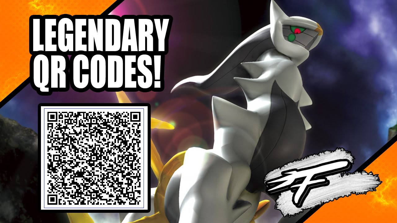 LEGENDARY POKÉMON QR CODE! (XY AND ORAS ONLY!) #1