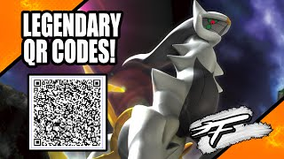 LEGENDARY POKÉMON QR CODE! (XY AND ORAS ONLY!)