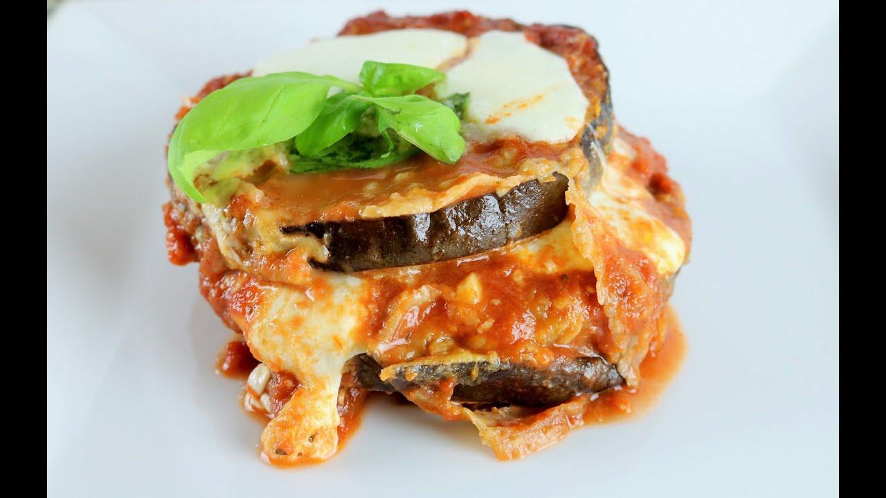 Resultado de imagen para lasagna de berenjenas sin carne