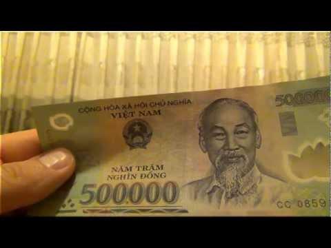 Как называются вьетнамские деньги