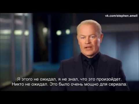 Neal McDonough about Black Canary death & Katie Cassidy