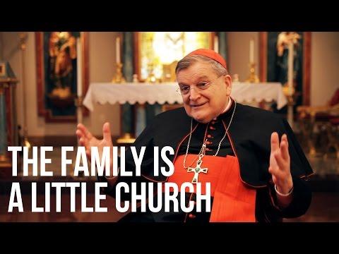 Cardinal Burke: The Family is a Little Church