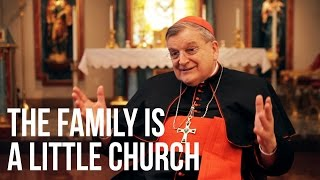 Cardinal Burke: The Family is a Little Church