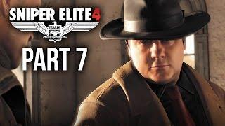Sniper Elite 4 Walkthrough Part 7 - ABRUNZA MONASTERY (Mission 5)