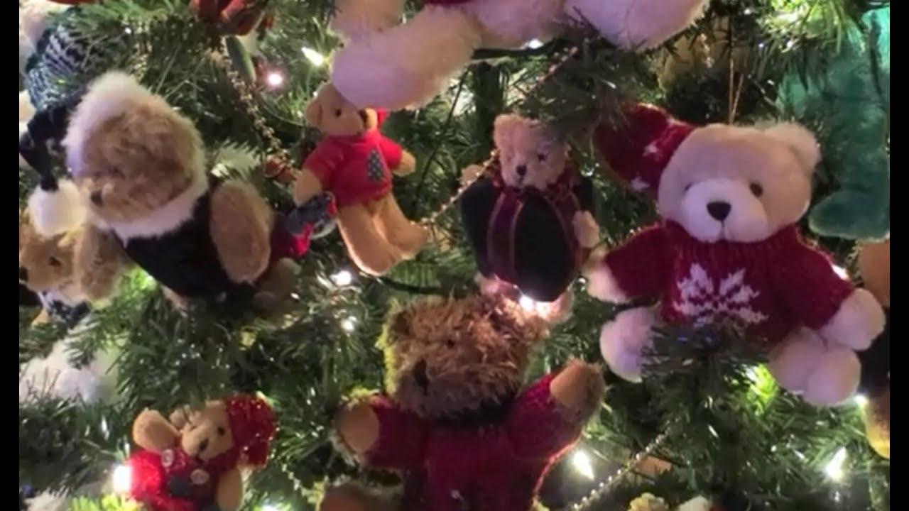 AWESOME Teddy Bear Christmas Tree! - YouTube